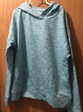 Champion Fleece Hoodie Girls L (10-12) Teal A2