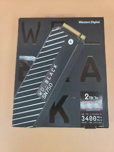 WD Black SN750 WDS200T3XHC 2TB SSD PCIe M.2 2280 Solid State Drive with Heatsink