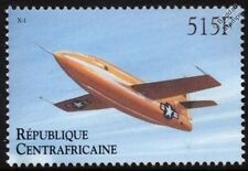USAF BELL X-1 / X1 Experimental Aircraft Stamp (2000 Central African Republic)