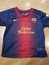 Barcelone 2012/13 enfant Home Shirt taille 12/18 mois