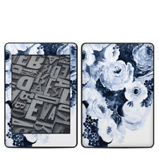 Kindle Paperwhite 2018 Skin - Blue Blooms - Sticker Decal