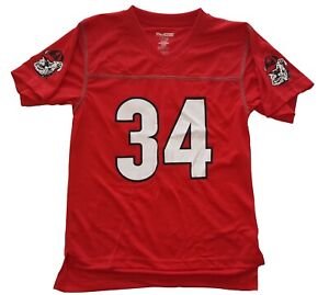 Georgia Bulldogs Football Jersey Youth Sizes Pull Over Jersey Top #34
