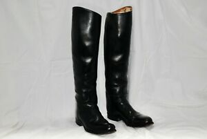 DEHNER EQUESTRIAN ENGLISH RIDING BOOTS ALL LEATHER SIZE 7