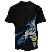 New Era Men's DC Comics Batman S/S Tee (Medium)