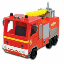 Fireman Sam Jupiter Fire Engine Push Along Vehicle Kids Children Toy