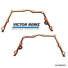 BMW Engine Timing Chain Case Gasket UPPER LEFT & RIGHT E60 E63 VICTOR REINZ NEW