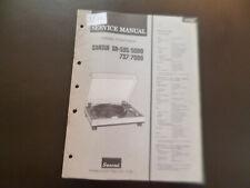 Original Service Manual Schaltplan Sansui SR-535/5090 737/7090