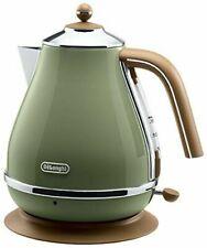 Delonghi Electric Kettle 1.0L Olive Green Kbov 1200J-GR AC100V 50