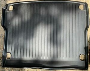 Audi Q5 8R boot / cargo liner, black - used, present as new
