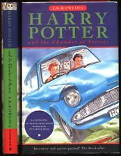 Harry Potter and the Chamber of Secrets J.K. Rowling HC UK edition 34th printing