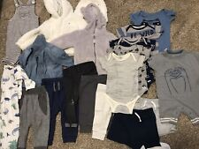 Lot 20 Pieces Baby Boy Clothes Clothing 6-9 Months
