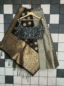 Choli Lehenga Indian Lengha Party Wedding Designer Pakistani Bollywood Sari CC