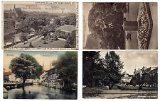 POLAND BYDGOSZCZ  1923-1935  4  OLD VIEW POSTCARDS