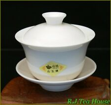 Hengfu White Jade Bone china Gaiwan Set 125ml/cc Free Shipping!!!