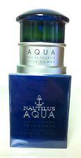 NAUTILUS AQUA 3.3 OZ / 100 ML MEN'S EAU DE TOILETTE SPRAY  NIB
