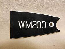 Washburn WM-200 Guitar Truss Rod Cover