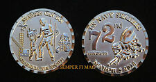 2014 US NAVY SEABEES CHALLENGE COIN GRADUATION PROMOTION PIN UP RETIREMENT GIFT