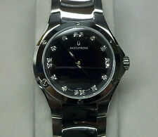 ACCUTRON BY BULOVA DIAMOND LUXURY LADY WATCH BELIZE COLLECTION  26P13  NEW  SALE
