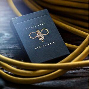 Ellusionist Killer Bee Playing Cards - Cool Magic Card Decks - Ellusionist Decks