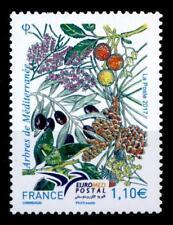 Euromed Postal: Bäume des Mittelmeerraumes. 1W. Frankreich 2017