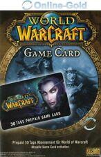 World of Warcraft Spielzeit 30 Tage - Battlenet 30 Tage WOW Gamecard Code - EU