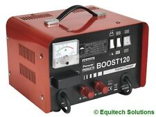 Sealey Tools Boost120 Battery Starter Charger Booster 12V 24V 230V New Boxed