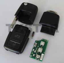 433Mhz Coche Llave 3-Tasten Mando a Distancia Para VW + Transpondedor