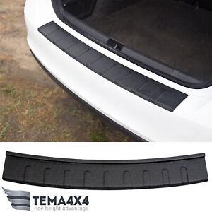 Rear bumper protector scuff pad for Skoda Rapid 2012-present liftback sill guard