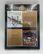 EA CD-ROM Classics Populous & PowerMonger CD-ROM PC Game