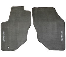 New Oem Factory Mercury Sable Logo Floor Mats Floormats Med Graphite Gray Grey