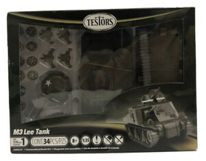 Testors Model Kit WWII M3 Lee Tank-Painted 1:35 scale Skill level 1 NEW