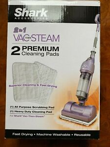 New Shark 2 in 1 Vac Then Steam Premium Cleaning Pads 1 All purpose 1 Heavy Duty