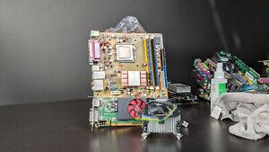 Motherboard CPU RAM GPU Combo 4GB Q6600 Radeon HD 8490