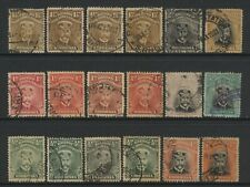 Rhodesia BSAC Collection 18 KGV Admiral Stamps Used