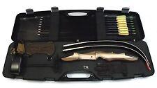 Bogenset Einsteigerset Recurvebogen Wildcat 68 Zoll mit Koffer Anbauköcher