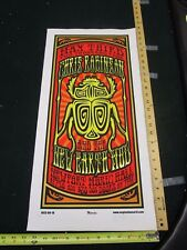 Rock Roll Concert Poster Chris Robinson Mike Martin S/N#100