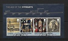 GB Stamps 2010 'The Age of the Stewarts' sg MS3053 - Fine used