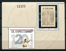Kolumbien Colombia 2007 Zeitung El Espectador Newspaper Block 70 Postfrisch MNH