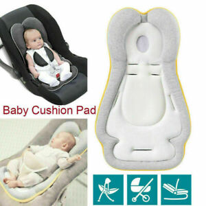 Black APRAMO 2 in 1 Baby Head /& Body Support Newborn Boys Girls Car Seat Insert Toddler Infant Cushioned Pad Liner for Car Seat Stroller