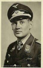 WW2 LUFTWAFFE TOTENKOPF BOMBER ACE ERNST PETZOLD KNIGHTS CROSS DKiG WAR HOFFMANN