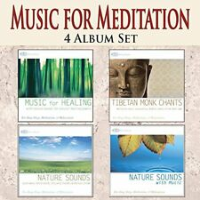 MEDITATION MUSIC 4 CD Set: Music for Meditation Tibetan Mantras and Nature Moods