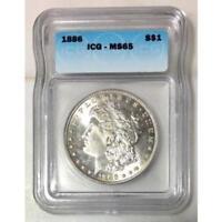 1886 Morgan Dollar ICG MS65 #154981