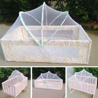 Baby Bed Tent Infant Canopy Folding Anti Mosquito Net Crib Cot Netting