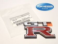 "JDM Nissan Skyline R33 GT-R ""GTR"" Rear Trunk Boot Decklid Emblem Badge OEM New"