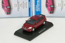 x Kyosho 1/64 Toyota Prius Phv Red Minicar Collection 2 Japan 2014