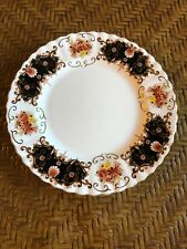 "Royal Albert Bone China HERITAGE 8"" Scalloped Edge Salad Plate Gold Trim"
