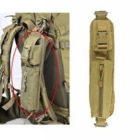 Tactical Molle Accessory Pouch Backpack Shoulder Strap Bag Hunting Tools TAN