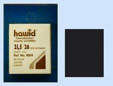 2 PIECES OF HAWID MOUNTS 21.5 X  26MM - BLACK    FREE SHIPPING     #HAW-21.5/26B