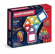 Magformers 30 Pcs Blocks Rainbow set Magnetic Educational Toy