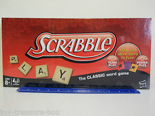 SCRABBLE The Classic Word Game with Power Tiles- 2-4 players - Ages 8+